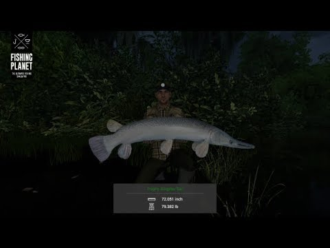 Fishing Planet - Quanchkin Lake - Louisiana - Trophy Alligator Gar