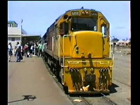 VIDEO 118,  Journey Around the World 105,  Palmerston North to Napier,  31 Jan , 1990