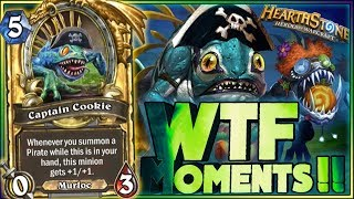 Hearthstone Frozen Throne WTF Moments - Funny and lucky Rng Moments