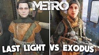 Metro Exodus Vs Metro Last Light Redux Comparison