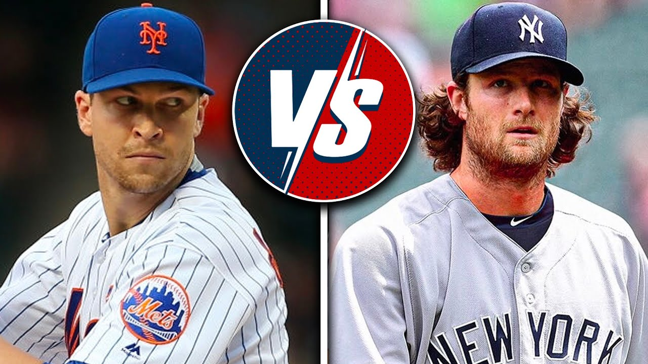 Jacob deGrom vs Gerrit Cole - Best Pitcher in MLB? - YouTube