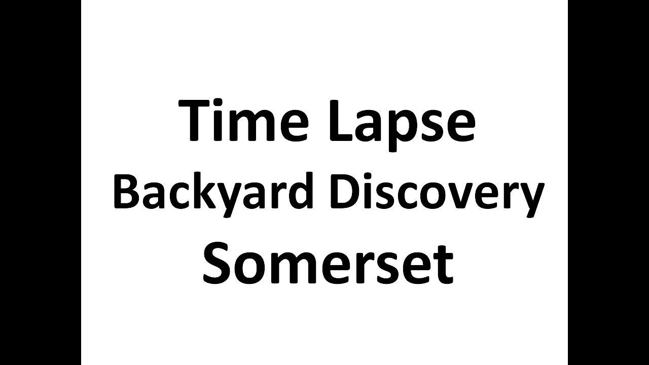 somerset model from backyard discovery time lapse youtube