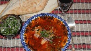 Грузинский суп Харчо