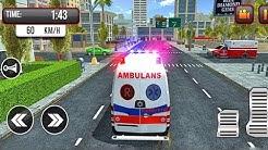 Jogos de Carros - Ambulance City Rescue - Resgate de Ambulância na Cidade