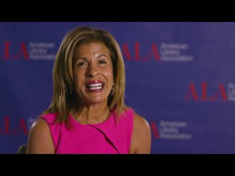 ALA Annual 2019 - Hoda Kotb on the 'Wow' of Books and Libraries ...