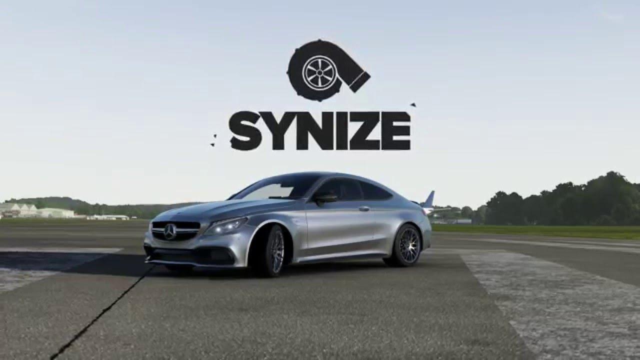 mercedes-benz s class coupe - top gear runs - forza motorsport 6
