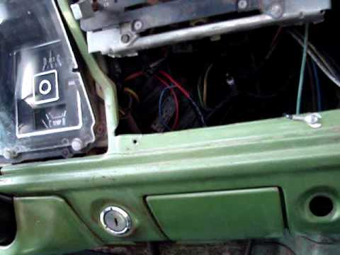 How To Install a DIN Radio in a 7379 Ford FSeries  YouTube