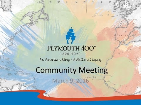 Plymouth 400 April Community Meeting