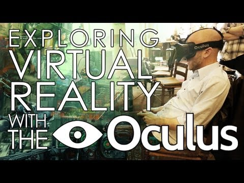 The Oculus Rift VR Headset! Does it work? Will it change gaming? Adam Sessler Interviews Creator