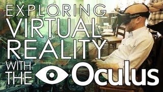 The Oculus Rift VR Headset! Does it work? Will it change gaming? Adam Sessler Interviews Creator