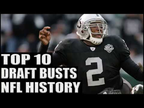 Top 10 Biggest NFL Busts in Draft History