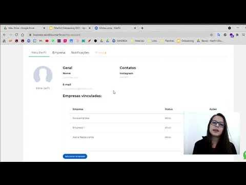 Plataforma Marfin Business - Configurar Perfil