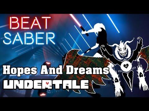 Beat Saber - Hopes And Dreams - Undertale (custom song) | FC