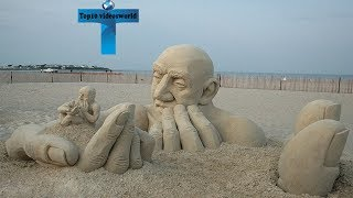 Top 12 Most Cool & Amazing Sand Sculptures You Won't Believe Actually Exist