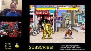 Super Sweet Sunday - Street Fighter 2 (SNES) Blanka ending - Royal Syrup Gamer