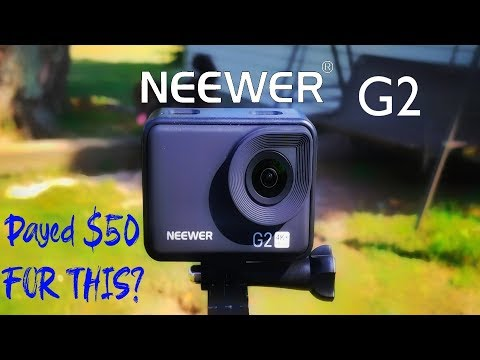 The $50 GoPro? | Neewer G2 4k Action Cam Review | FullHD