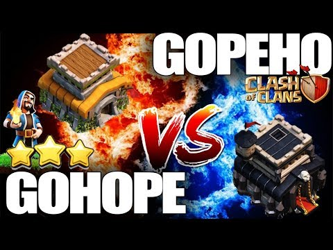 Th8 Vs Th9 Attack Strategy 2019 GOHOPE - HGHB - GOPEHO | Best Th8 3 Star Attack Strategy Coc