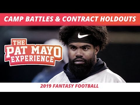 2019 Fantasy Football Rankings — NFL Camp Battles, Contract Holdouts, and Five Hot Takes