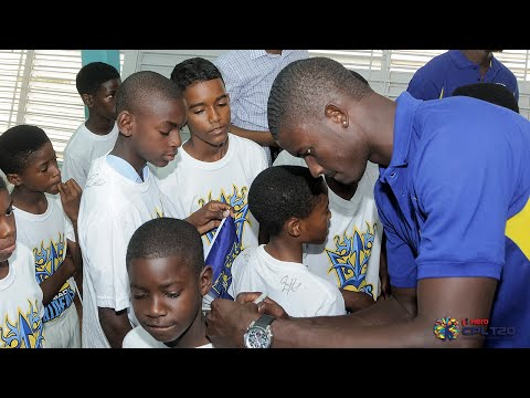 Barbados Tridents launch 2015 CPL   #CPL15