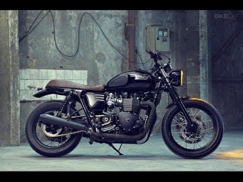 Triumph Bonneville T100 Black By Bunker Custom Cycles
