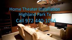 North Dallas Home Theater Installation Service Locations