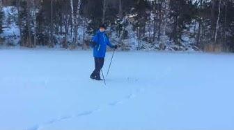 Jälkiä lumessa