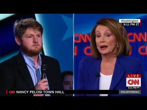 CNN TOWN HALL WITH THE HOUSE DEMOCRATIC LEADER NANCY PELOSI - ANCHOR CHRIS CUOMO (5/24/2018)