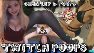 TwitchPoops | Twitch Girls & Gameplays #4 lilchiipmunk | Stpeach | Djarii | pink_sparkles | imaqtpie