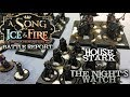 A Song of Ice and Fire Battle Report - Ep 13 - Night's Watch vs. House Stark