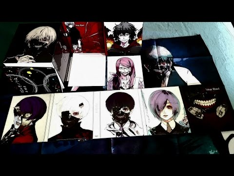 Tokyo ghoul collectors edition[unboxing]