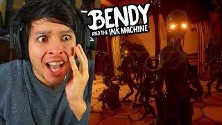 ¿¿ QUIENES SON ELLOS ?? UN NUEVO LIDER DE TINTA !! CAPÍTULO 4 - Bendy And The Ink Machine