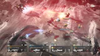 HELLDIVERS - Awesome 4 Player Gameplay