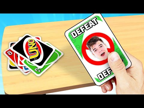 This UNO Card DEFEATS JELLY INSTANTLY! (so Mad)