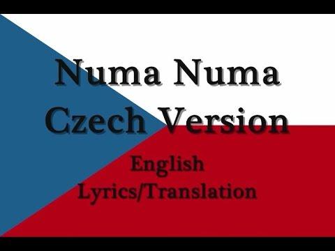 Numa Numa Czech Version (Rumba Rej) English Lyrics/Translation
