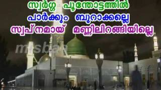 MIHRAAJ RAVILE KAATTE (Karaoke with Lyrics).BY,, anwar pannikandan vailathur
