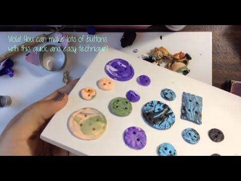 how to make polymer ly buttons