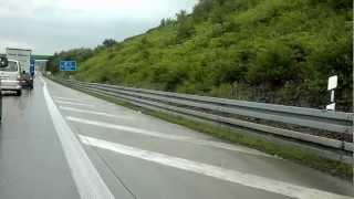 Unfall auf der a72