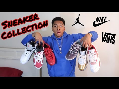 MY SNEAKER COLLECTION!! 👟🔥