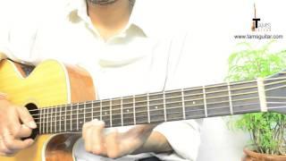 Porcupine tree trains guitar solo lesson (www.tamsguitar.com)
