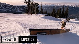 How To Lipslide On Skis