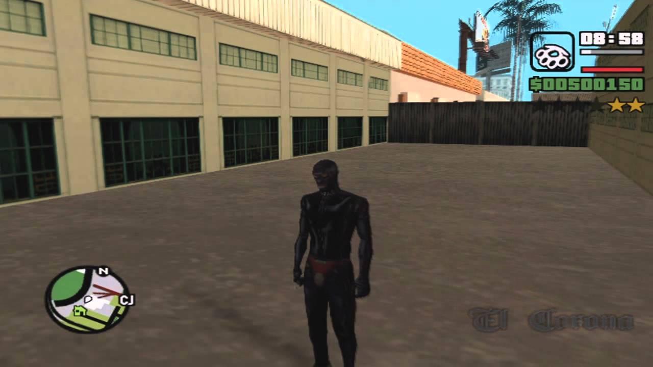 GTA San Andreas - Cj's Gimp Suit