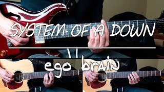 System Of A Down - Ego Brain (guitar cover w/ tabs in description)