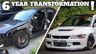 Amazing Sports Car Build Transformation! | Evo 9 SE