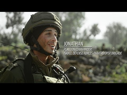 IDF Paratroopers in Live Fire Drill on Israel's Golan Heights