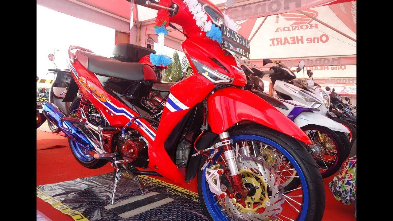 Modifikasi Thailook Style Supra X 125 Bergaya Honda Wave 125 YouTube