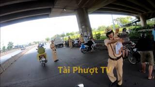 CSGT Bình Chánh bắt lỗi trên QL 1A || Long An - Sài Gòn