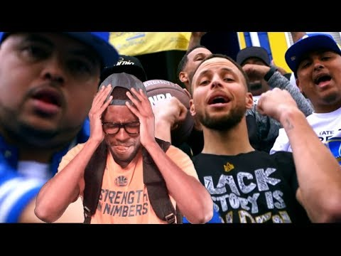 """STEPH CURRY """"WARRIORS"""" MUSIC VIDEO IS FLAMES?! REACTION"""
