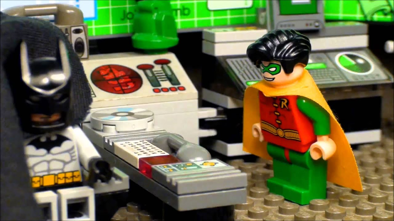 Lego Batman - The Ridiculous Cape - YouTube