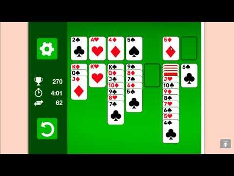 Игра косынка играть во весь экран. Игра косынка карты