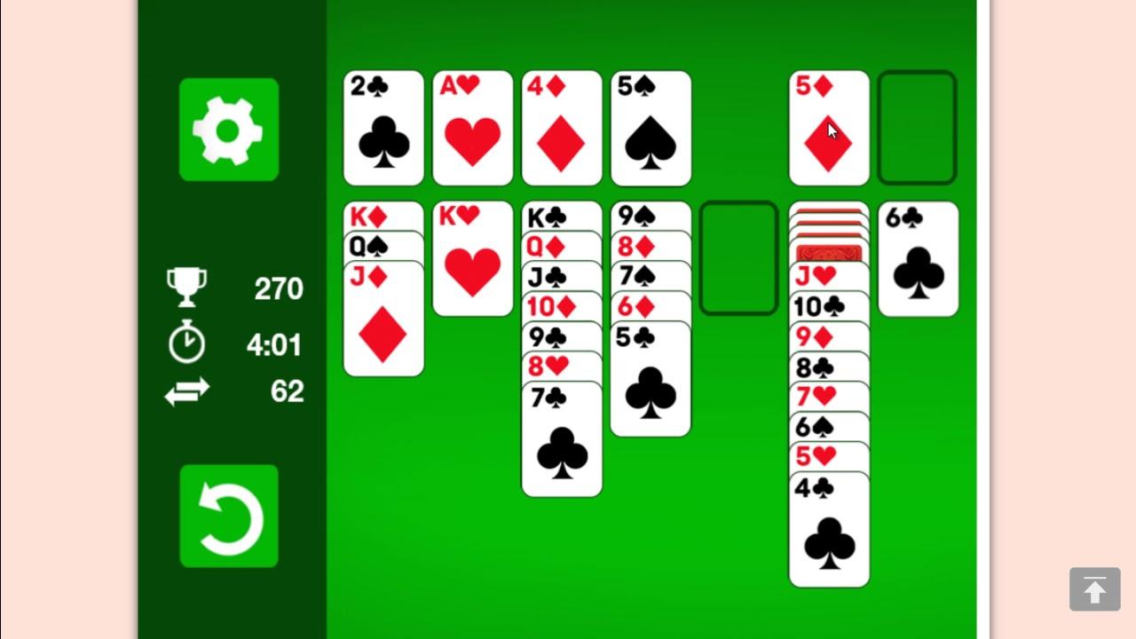 Пасьянсы косынка 3 карты играть бесплатно в онлайн без регистрации